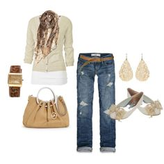 """""""weekend casual"""" by lisamichele-cdxci on Polyvore"""