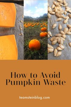 Ways to use your leftover pumpkins #pumpkin #pumpkinrecipes #zerowasteliving #reducewaste