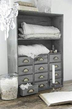 Zinc storage cabinet