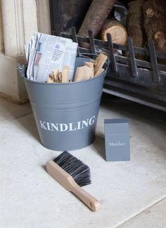 Get ready for winter by the fire with our Fireside Accessories Set in Charcoal