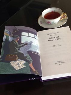 Miss Marple and a cup of tea...