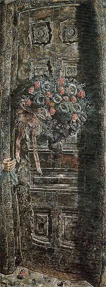 Another favorite piece of art - Ivan Albright's That Which I Should Have Done I Did Not Do (The Door)... doesn't reproduce well on film but it's amazing in person.