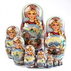 Russian Troika Collectible Matryoshka