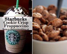 Starbucks Secret Menu Cookie Crisp Frappuccino! Recipe here: http://starbuckssecretmenu.net/starbucks-secret-menu-cookie-crisp-frappuccino/