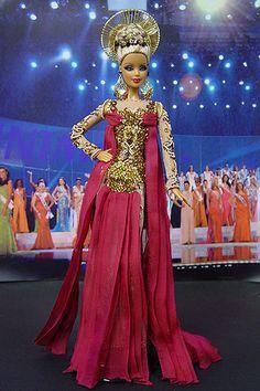 OOAK Barbie NiniMomo's Miss Lebanon 2011