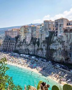 The town of Tropea. Calabria, Italy : travel The town of Tropea. Places To Travel, Places To See, Travel Destinations, Travel Pics, Travel Quotes, Dream Vacations, Vacation Spots, Italy Vacation, Destination Voyage