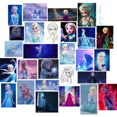Elsa Collage by george-alban on Polyvore