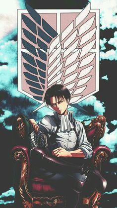 Levi Ackerman - Attack on Titan - Shingeki no Kyojin Levi Ackerman, Levi X Eren, Manga Anime, Anime Art, Dark Fantasy, Anime Love, Anime Guys, Attack On Titan Anime, Animes Wallpapers