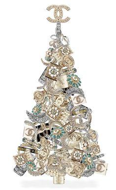 Chanel Christmas tree I want it.