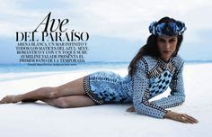 Vogue Spain May 2013 - Aymeline Valade by Miguel Reveriego