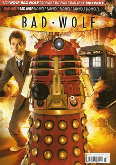 Doctor Who Magazine # 397 - Bad Wolf issue Dr Who Toys, Doctor Who Shop, Doctor Who Magazine, Doctor Who Merchandise, Classic Doctor Who, Sci Fi Shows, 10th Doctor, Bad Wolf, Jukebox