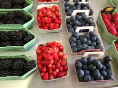berries look (and taste) so much better in France.  Maybe because they are not genetically modified?  le sigh
