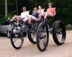 Tom Wilson's Awesome DIY Monster Quad Bikes! (Photos) : TreeHugger