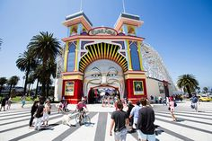 Luna Park, Melbourne's iconic amusement park, has excited and delighted guests for over 100 years. In 1912, the JD Williams Amusement Company created a futuristic world of crazy possibilities and endless escapes, immediately embedding itself into the