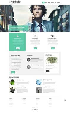 'Progress Business' #webdesign for #WordPress 3.x http://www.zign.nl/