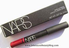 NARS Satin Lip Pencil in Palais Royal Review & Swatches - lolas secret beauty blog