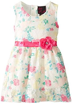 BUY NOW Girls Rule offers cute and comfortable styles with quality construction. She is adorable in this flower printed lace dress with lining, sating ribbon bow and tacked on flower. BUY NOW $19.99 BUY NOW The post Girls Rule Little Girls Flower Printed Lace Dress, Multi, 3T appeared first on Best Place for Shoppers.