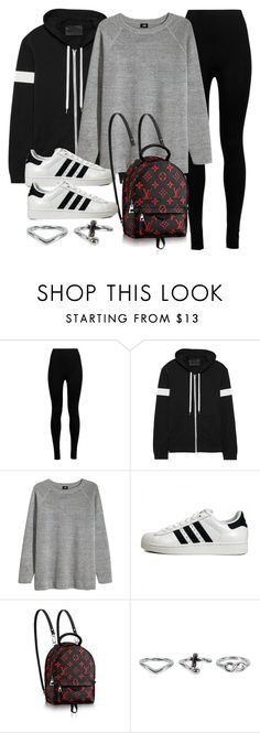 """Sin título #11982"" by vany-alvarado ❤ liked on Polyvore featuring Wolford, Norma Kamali, H&M, adidas Originals and NLY Accessories"