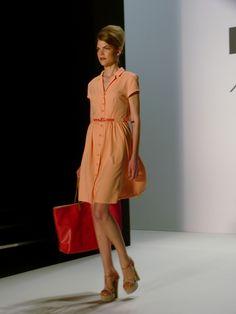Model at MINX by Eva Lutz Spring/Summer 2013 - Mercedes Benz Fashion Week - http://olschis-world.de/  #MINX #Womenswear #fashion