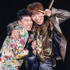 Big Bang's maknae line: Seungri and Daesung