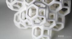 3ders.org - Sugar Lab 3D printed sweet geometric sculptures entirely from sugar | 3D Printer & 3D Printing News
