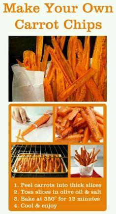 Bastones de zanahoria