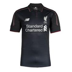 Maillot de foot Liverpool 3rd 2015/2016 Noir