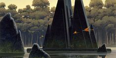 100 Ralph McQuarrie concept art images for the Original Star Wars Trilogy - Album on Imgur