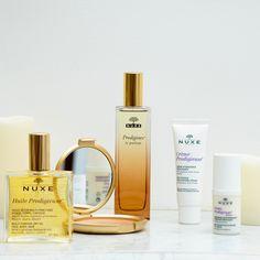 Les Soins Prodigieux® & les produits Crème Prodigieuse® #NUXE #Prodigieux #HuileProdigieuse #Bougie #Parfum #Beauty #Makeup #CrèmeProdigieuse
