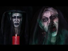 Insidious Chapter 3: Bride in Black Makeup Tutorial - YouTube