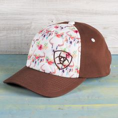 Ariat Floral Skull Ball Cap Have to Have! Cowgirl Hats, Cowgirl Outfits, Cowgirl Style, Western Outfits, Country Hats, Country Style Outfits, Country Fashion, Country Wear, Western Chic