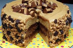 I Can't Pin It!: Reeses Overload Cake