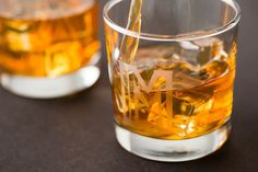 Take your pick of heavy base whiskey tumblers or elegant stemless flutes.