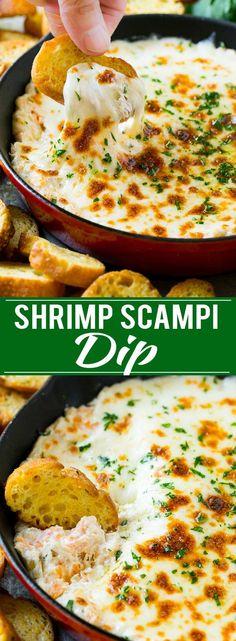 Shrimp Scampi Dip Recipe | Hot Shrimp Dip | Shrimp Dip Recipe