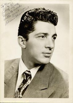 We know him today as Dean Martin, world famous crooner and pal of Jerry Lewis, Frank Sinatra and Sammy Davis Jr. But he was born Dino Paul Crocetti, in Steubenville, OH, the son of Italian immigrants Gaetano and Angela Crocetti.