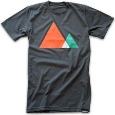 The majesty of mountains - Ugmonk style.  Now available in fresh new colors. Also available in black.
