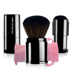 New Beauty Retractable Kabuki Makeup Cosmetic Face Powder Foundation Mini Blush Brush Women's Make Up Brush Blusher Brush, Powder Foundation, Face Powder, Makeup Brush Set, Makeup Cosmetics, Make Up, Mini, Accessories, Beauty