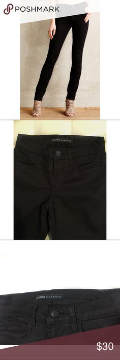 """New J Brand Black Skinny Jeans Mid Rise Sz 23 J BRAND Rail Skinny Jeans in Black   DESCRIPTION: Totally sold out online!!!!Mid-rise super skinny jeans. Amazing fit.Get your hands on a pair of these 'IT GIRL' staple pants today.    SIZE: 23  INSEAM: 30""""  RISE: 7.5""""  COLOR: Black  MATERIAL: 64%Lyocell,34%Cotton,2% Elastane  MADE IN: USA  CONDITION:New Without Tags- in excellent condition Original price $198.00 J Brand Jeans Skinny"""