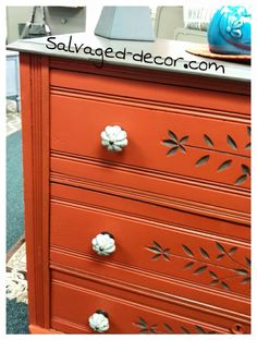 Genial Firelight New Zero VOC Furniture Paint By Paint Couture! Painted By  Salvaged Decor