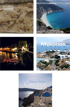 Greece travel souvenir fridge magnets.  $3.45 each + shipping and discounts for volume purchases