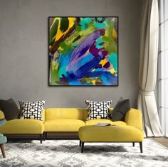 Pops of colour & the beautiful Winter Series - Kerry Armstrong Art