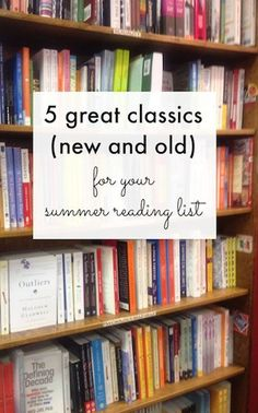 Feeling guilty because you've never read the famous books that everyone assumes you covered in high school?These classics—some old, some modern—are good enough to read on the beach.            Back to the 2012 Summer Reading Guide