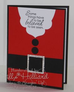 Jill's Card Creations: Ho Ho Ho!