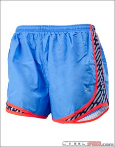 Nike Womens Printed Tempo Short - Blue with Obsidian...$32.39