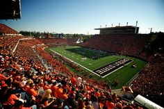 Reser Stadium - one of the best home field advantages in the nation.