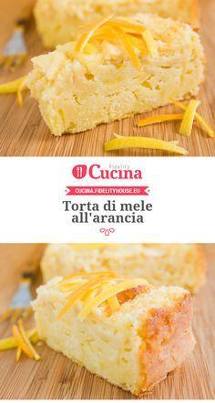 #Torta di #mele e #arancia