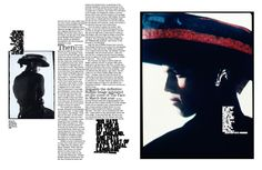 Arena Homme Plus Neville Brody issues