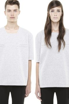 DR191GFL : UNISEX CUBE TOP : via http://www.radhourani.com It is this very idea of interchange ability between gender, wearer, garments and styles that has influenced my practice.