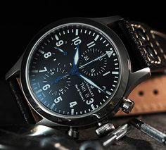 Steinhart Nav B Chrono Steinhart Watches mens luxury watch. Stylish Watches, Luxury Watches For Men, Cool Watches, Dream Watches, Men's Watches, Steinhart Watch, High End Watches, Luxury Watch Brands, Swiss Army Watches