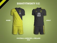 Rationale is simple. What if Ireland's advertising agencies were football clubs. The result: Football Agencies of Ireland (FAI)